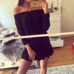 Patrizia Pepe Kleid Volants Rüschen Bandeau Sommerkleid