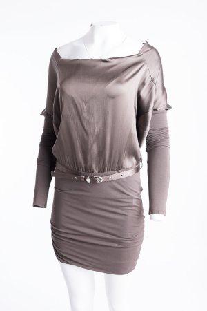 Patricia Pepe Tubino bronzo-marrone-grigio Seta
