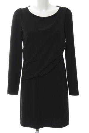 Patrizia Pepe Langarmkleid schwarz schlichter Stil