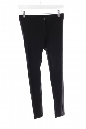 Patrizia Pepe Leggings schwarz Leder-Optik