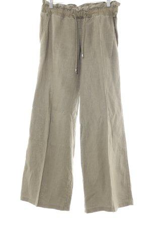 Patrizia Pepe Pantalone di lino cachi Stile Boho