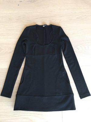 Patrizia Pepe Longshirt/kurzes Kleid schwarz