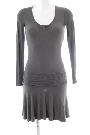 ff04ef8b84c7b0 Patrizia Pepe Mini-jurk groen-grijs casual uitstraling
