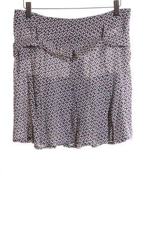 Patrizia Pepe Miniskirt allover print casual look