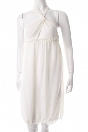 Patrizia Pepe Halter Dress cream romantic style