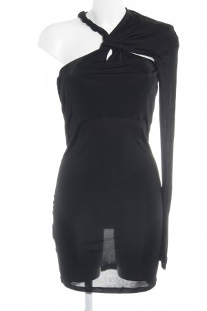 Patrizia Pepe One Shoulder Dress black elegant