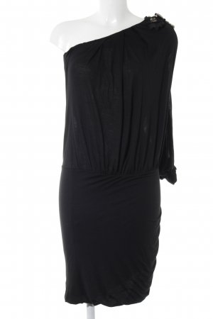 Patrizia Pepe One-Shoulder-Kleid schwarz Party-Look