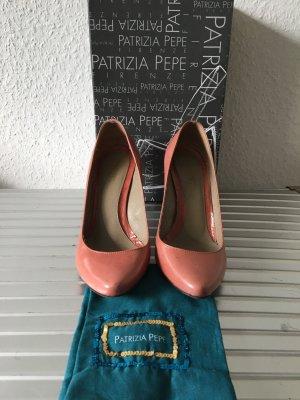 Patrizia Pepe Pumps Vintage Look altrosa Gr. 38