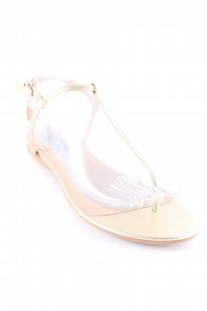 Patrizia Pepe Strapped Sandals gold-colored-beige elegant