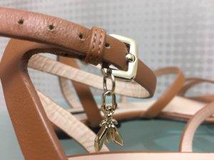 Patrizia Pepe Sandalias de tiras marrón claro Cuero