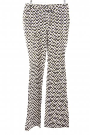 Patrizia Pepe Schlaghose abstraktes Muster Casual-Look