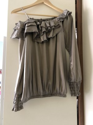 Patricia Pepe Carmen blouse grijs