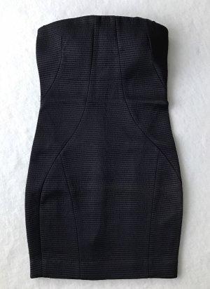 PATRIZIA PEPE Sera Kleid, Abendkleid, Cocktailkleid, schwarz, 34 ital. 40 XS