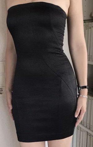 Patrizia Pepe Off-The-Shoulder Dress black