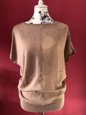 Patricia Pepe Long Shirt nude-beige cotton