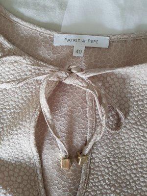 Patrizia Pepe Blusa de túnica multicolor