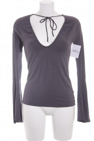Patrizia Pepe Shirt grauviolett Casual-Look