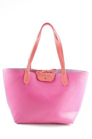 Patrizia Pepe Shopper rose-rouge style décontracté