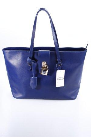 Patrizia Pepe Shopper dunkelblau schlichter Stil
