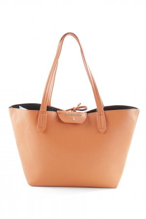Patrizia Pepe Shopper orange clair style décontracté