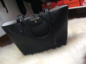 Patrizia Pepe shopper weiß schwarz