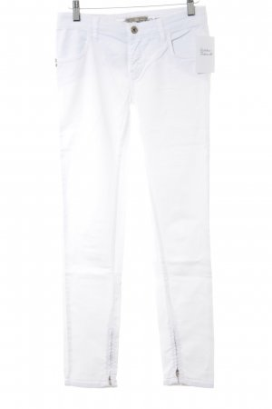 Patrizia Pepe Slim Jeans weiß Casual-Look