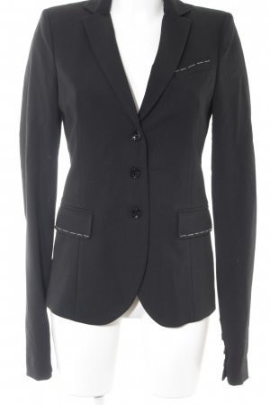 Patrizia Pepe Smoking-Blazer schwarz Business-Look