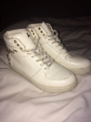 Patricia Pepe High top sneaker wit-zilver