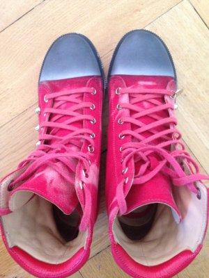 Patrizia Pepe Sneaker rot mit Nieten