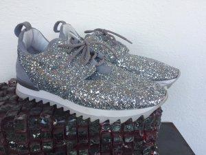 PATRIZIA PEPE Sneakers SilberGlitter