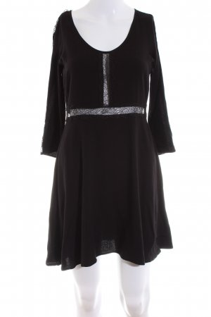 Patrizia Pepe Lace Dress black elegant
