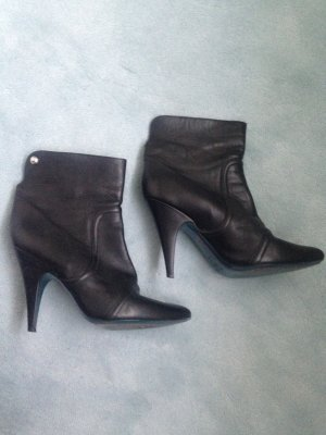 Patrizia Pepe Bottines à enfiler noir cuir
