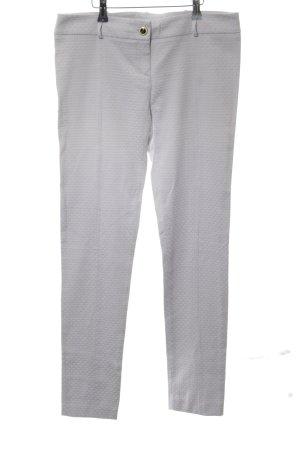 Patrizia Pepe Pantalon strech gris clair-argenté style d'affaires