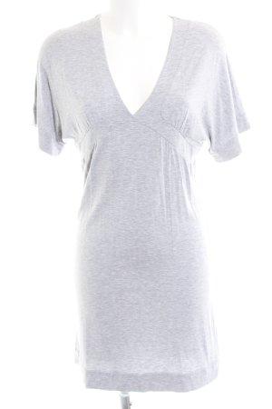 Patrizia Pepe Stretch Dress light grey flecked casual look