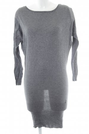Patrizia Pepe Gebreide jurk grijs casual uitstraling