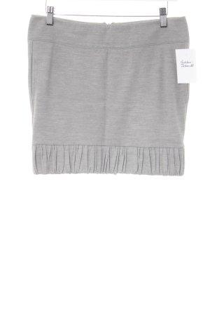 Patrizia Pepe Jupe tricotée gris clair moucheté style décontracté