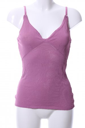 Patrizia Pepe Knitted Top pink casual look