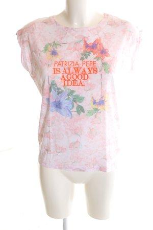 Patrizia Pepe T-Shirt Blumenmuster Casual-Look
