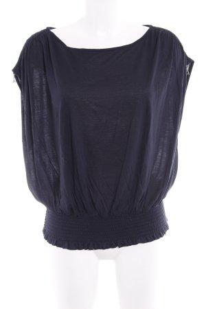 Patrizia Pepe T-Shirt dunkelblau Casual-Look