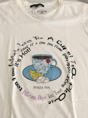 Patrizia Pepe T-Shirt mit edlem Print