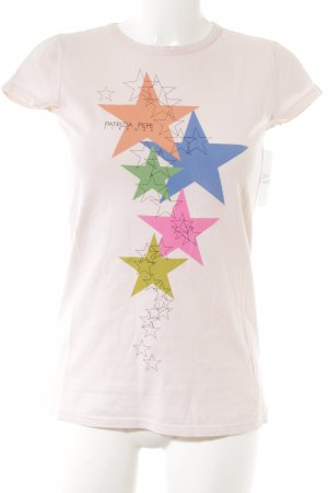 Patrizia Pepe T-Shirt Sternenmuster Casual-Look