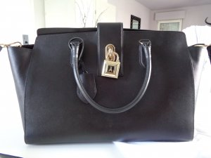 Patrizia Pepe Tasche Large Padlock schwarz *NP 320 Euro