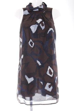 Patrizia Pepe Trägerkleid abstraktes Muster Elegant