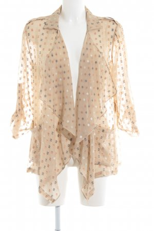 Patrizia Pepe Transparenz-Bluse grafisches Muster Casual-Look