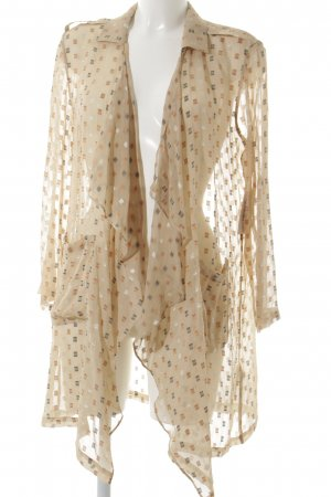 Patrizia Pepe Transparenz-Bluse mehrfarbig schlichter Stil