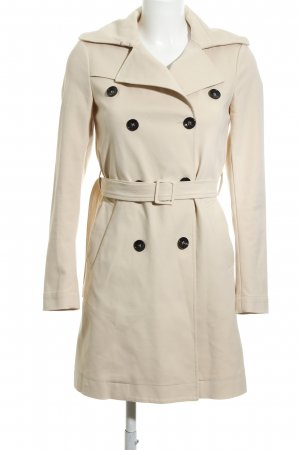 Patrizia Pepe Trenchcoat creme-wollweiß Casual-Look