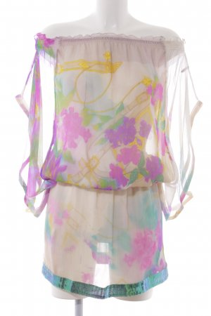 Patrizia Pepe Robe tunique motif abstrait style décontracté