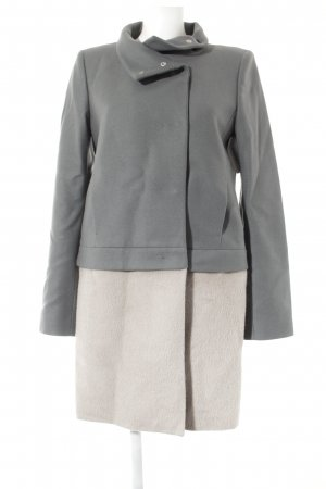 Patrizia Pepe Between-Seasons-Coat grey-beige elegant