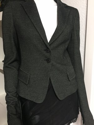Patrizia Pepe Blazer en laine blanc-noir