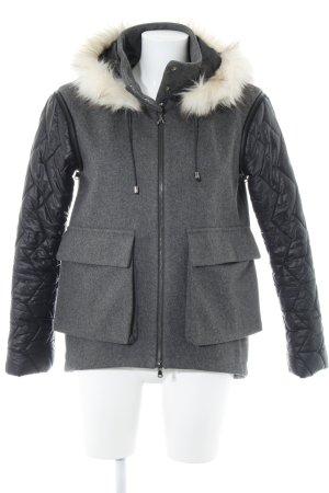 Patrizia Pepe Giacca di lana grigio-nero stile casual